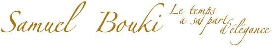 Samuel Bouki - Montre de luxe